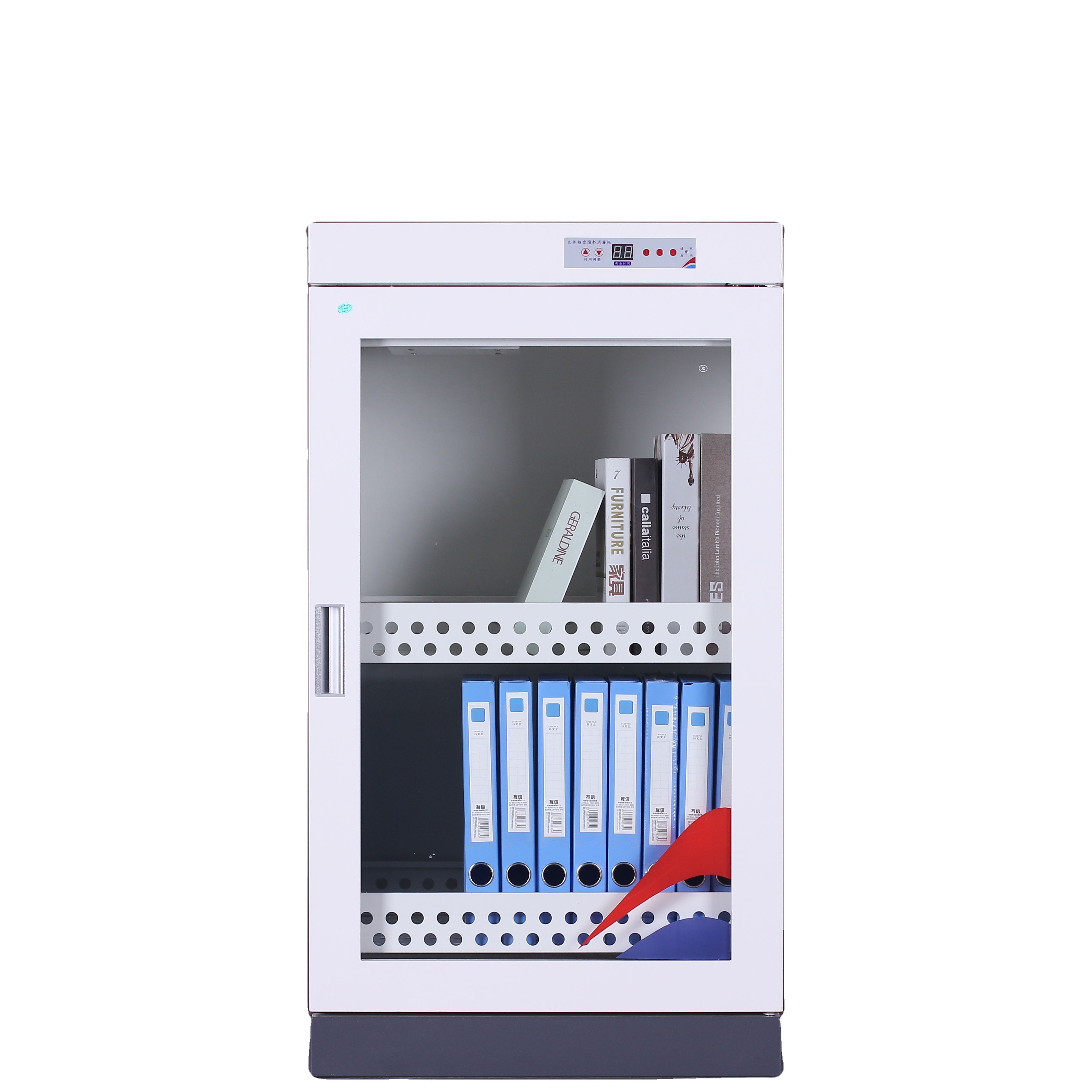 Double layer office library ozone disinfection cabinet anti bacterial book document sterilizer