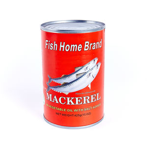 Factory Price Canned Fish Canned Mackerel in Natural Oil 425g