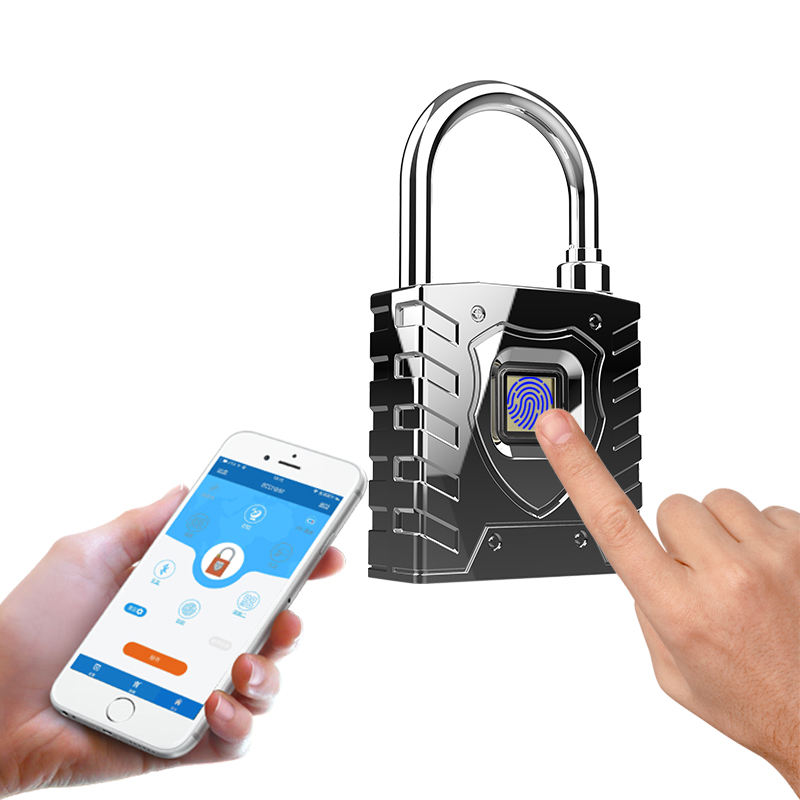 Biometric Smart Lock, APP Mobile Phone Bluetooth Monitoring And Positioning Logistics Lock