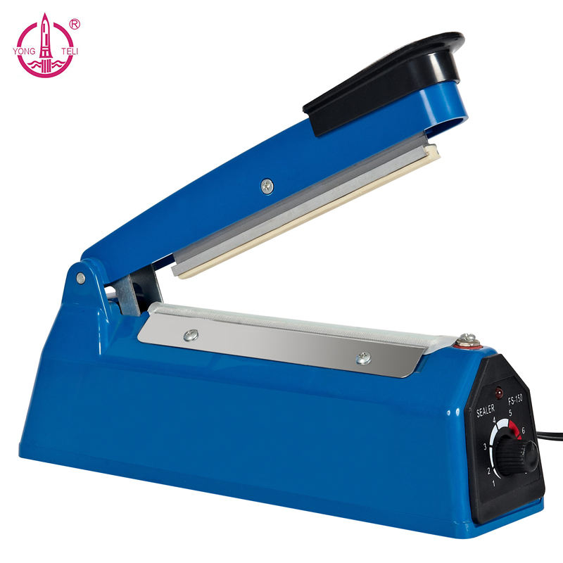 Blue PFS-150A impulse sealer machine heat sealer plastic bag sealer