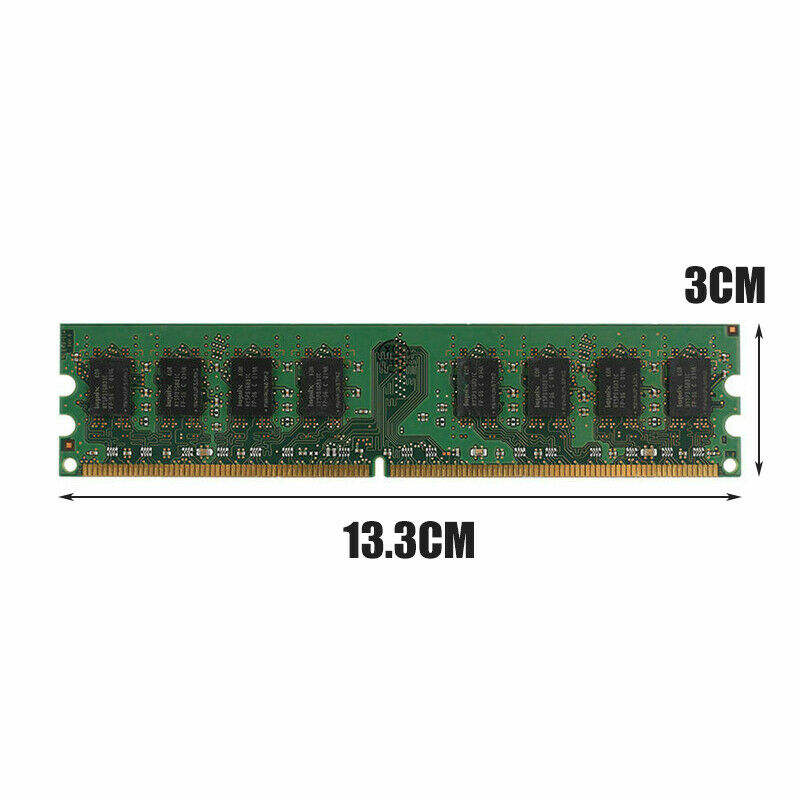 New high quality 4GB (2x2GB) DDR2 PC2-6400 6400U DDR2-800 MHZ memory DIMM desktop RAM 240 PIN