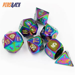 Wholesale Custom Engraved Logo Hot Sale Custom Metal Dice With Cheap Dice