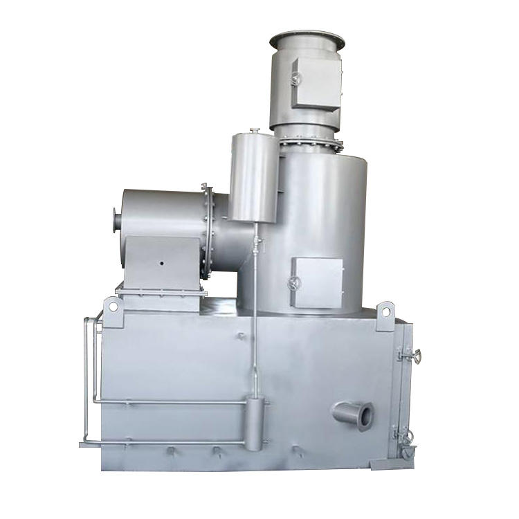 New Type Solid Waste Treatment Machine Incinerator for Medical Waste with ISO9001 Certificate
