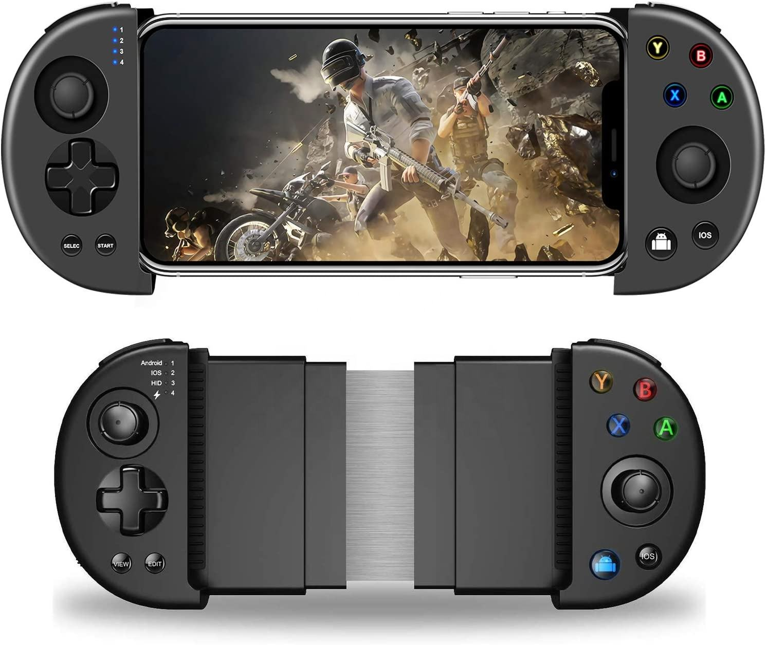 Multi-functional wireless mobile controller bluetooth gamepad for Android Ios mobile joystick game controller