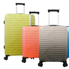 Wholesale abs travel style trolley valise bags hardside suitcase 3pcs luggage sets
