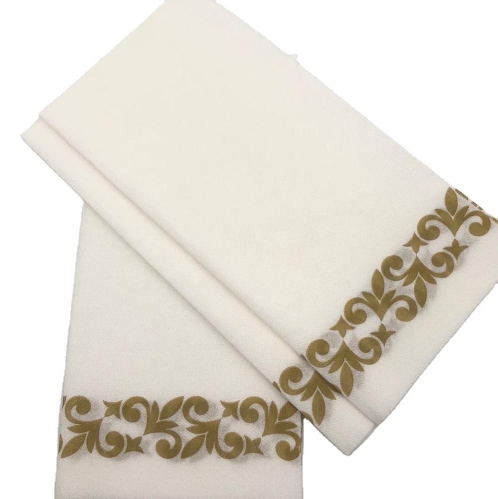 Premium fabric luxury airline napkins