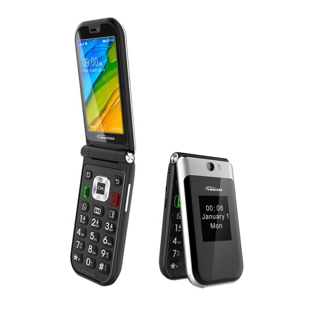 Custom built android fold mobile 4g flip phone manufacturers from china