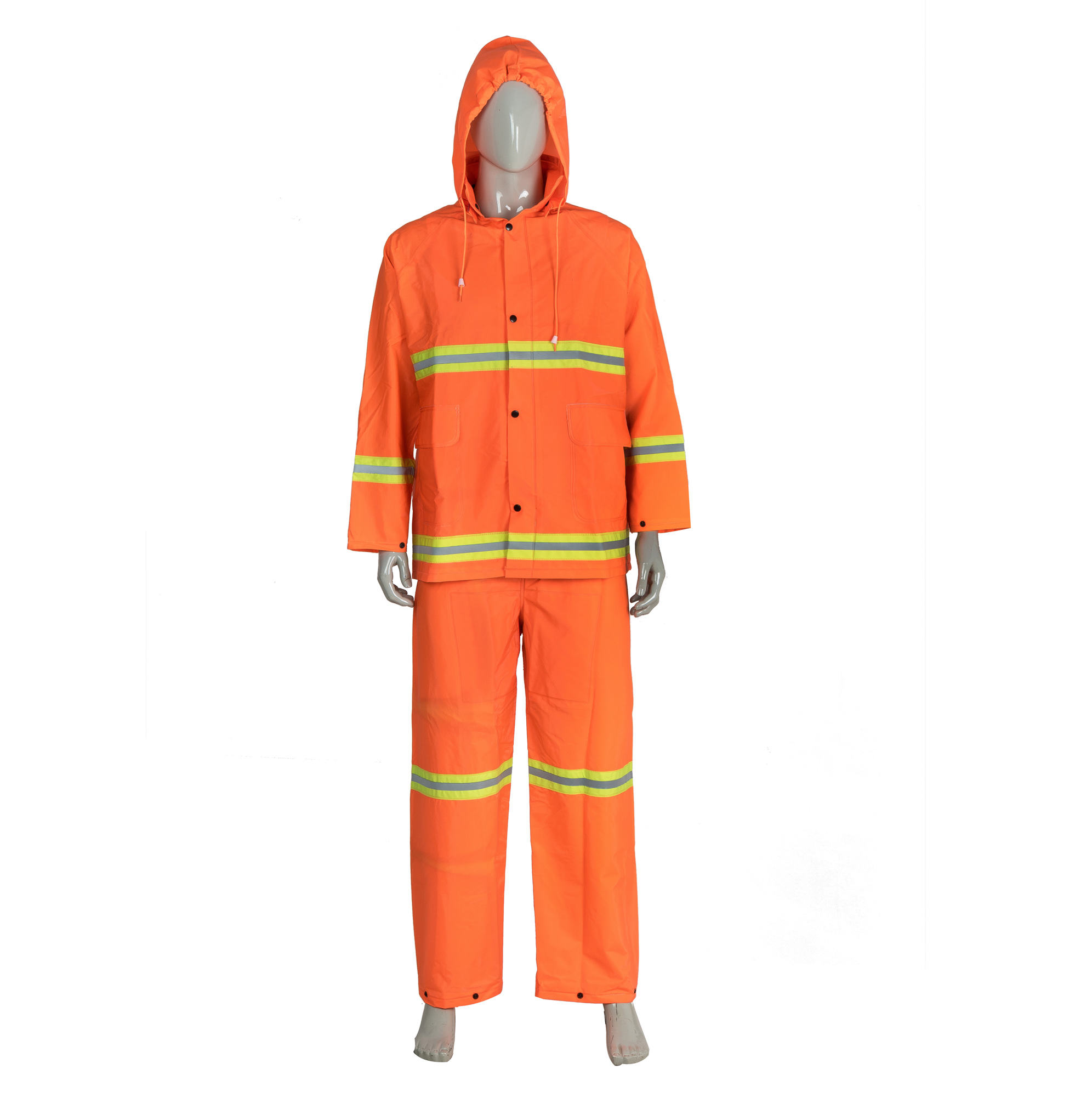 High Quality Wholesale Reflective Safety Clothing High Vision Heavy Duty Rainsuit