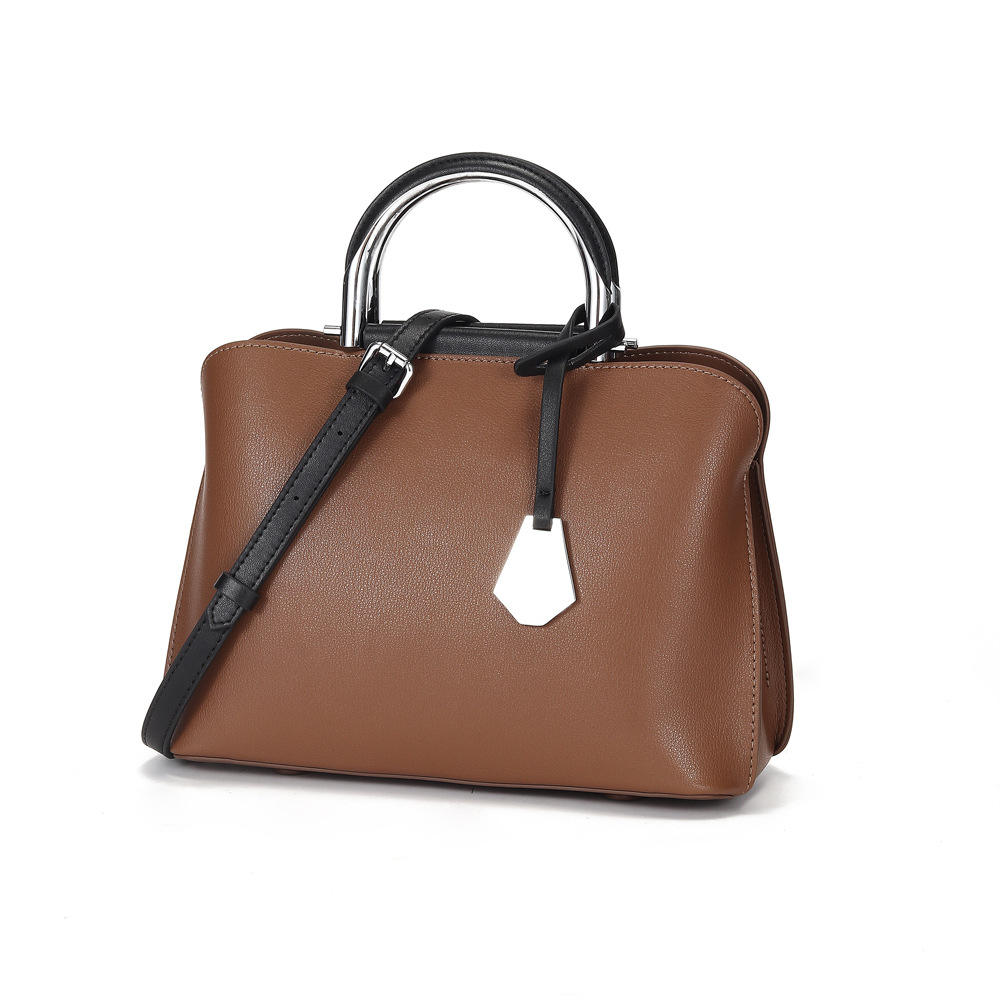 New Ladies Branded Women Genuine Leather Handbags With Customization Logo Tote Bag Manufacturer Italy