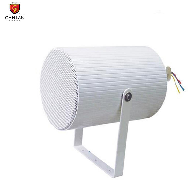 CS-310 PA System Outdoor 20w 10w 5w Aluminum Uni-Directional Full Range Ceiling Projector Speaker 100v