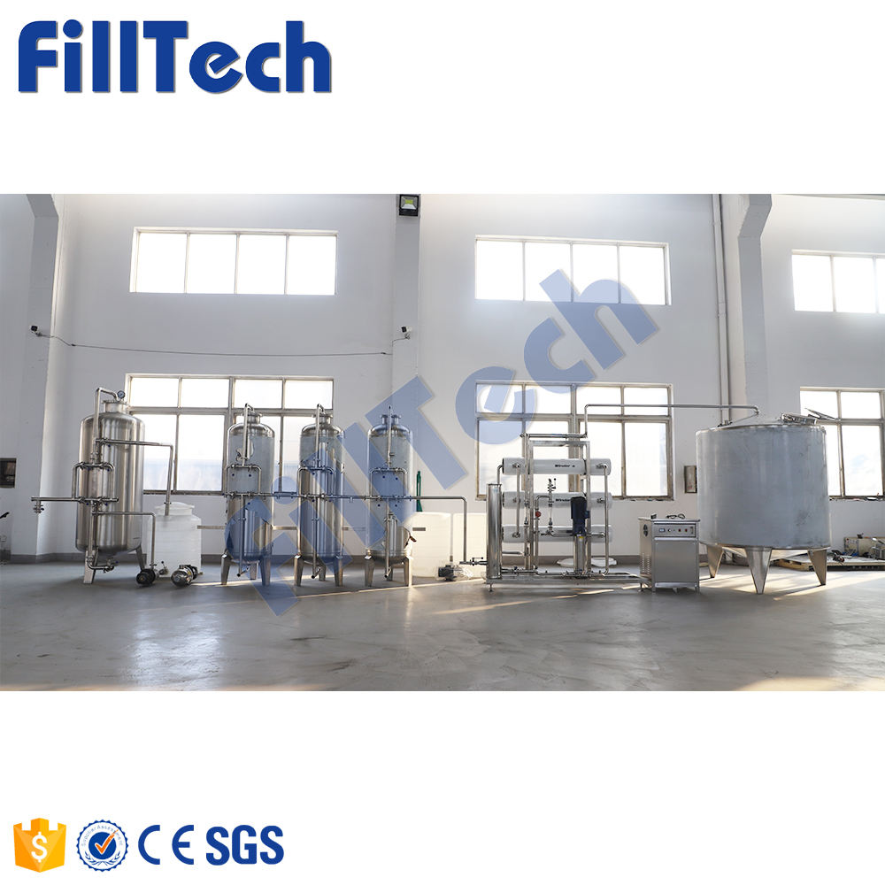 High Quality Water Purification Reverse Osmosis Machinery Manufacturing Plant Pressure VESSEL Pump Free Spare Parts Provided PLC