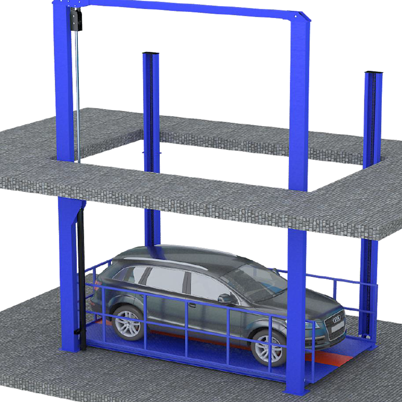 5ton Garage Equipment Four Post Hydraulic Car Lift for Car Parking