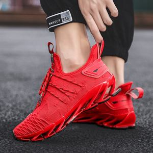 Latest Design High-Tech Autumn Winter Blade Sole Women Men Sports Shoes Running Sneakers