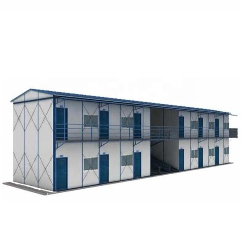 Affordable Detachable Multi Floors Simple Modular House Prefabricated Homes PEB Steel Structure Portable Houses Dormitory Camp