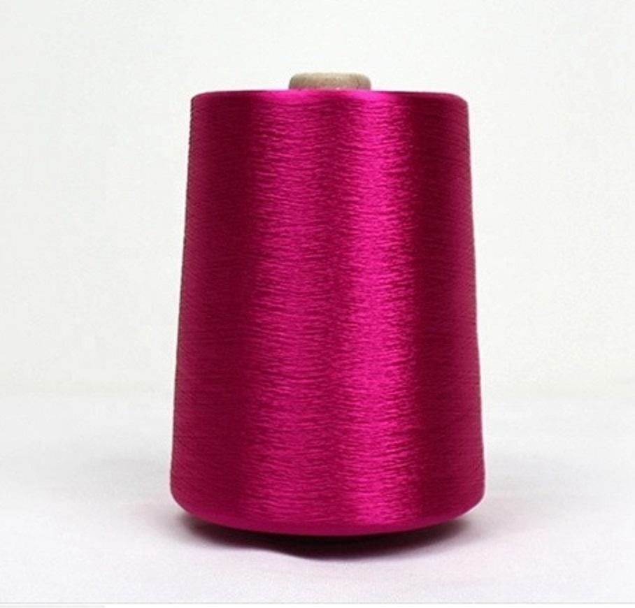 Viscose Rayon Filament Yarn 300D cake dyed Hilo viscos