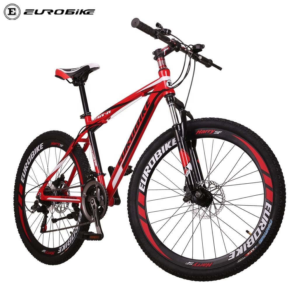 Eurobike factory GTR aluminum mountain bike 26 27.5 inch Magnesium wheel sepeda MTB shi mano groupset 21 speed cycles for men