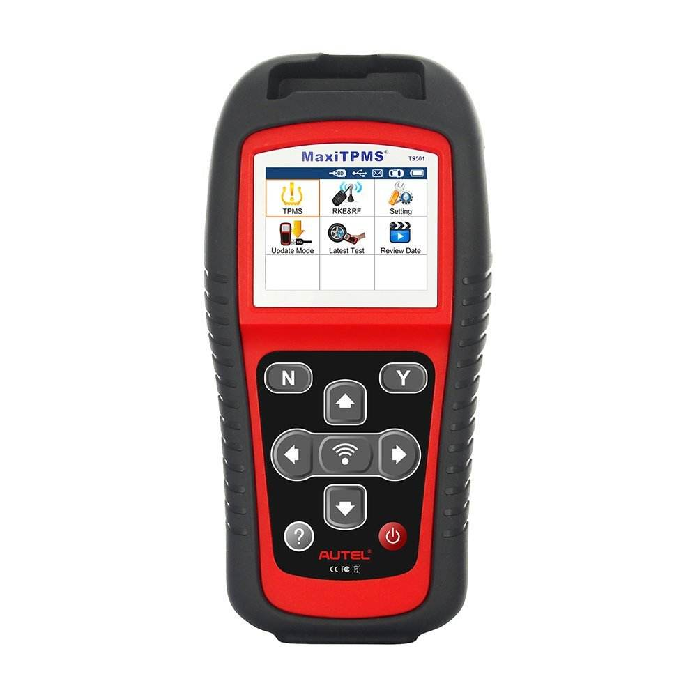Autel Diagnostic Tools MaxiTPMS TS501 TPMS Programming Tool Activate TPMS Sensors Reads/clears codes of TPMS system OBD2 Scanner