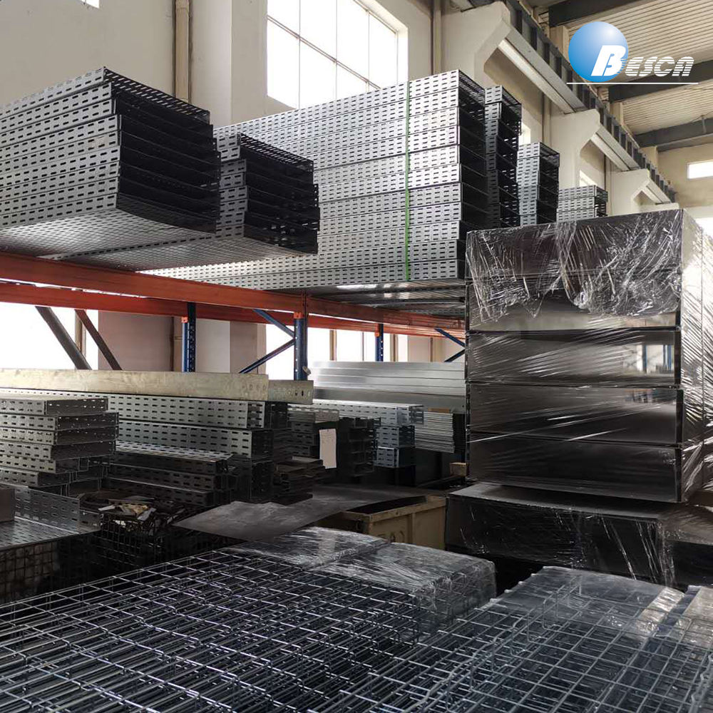 SS316 Steel Wire Mesh Cable Tray Basket Manufacturer