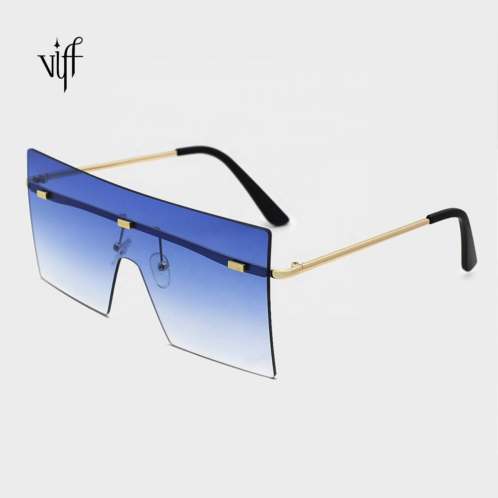 VIFF HM20123 Hot Sale Luxury Square Sunglasses Oversized Party Flash Women Sun Glasses Wholesale Ready to Ship