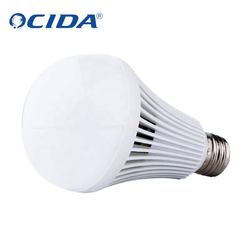 smart charging bulb High Quality Customized 9w emergency bulb with battery rechargeable E27 bulb with built-in battery price