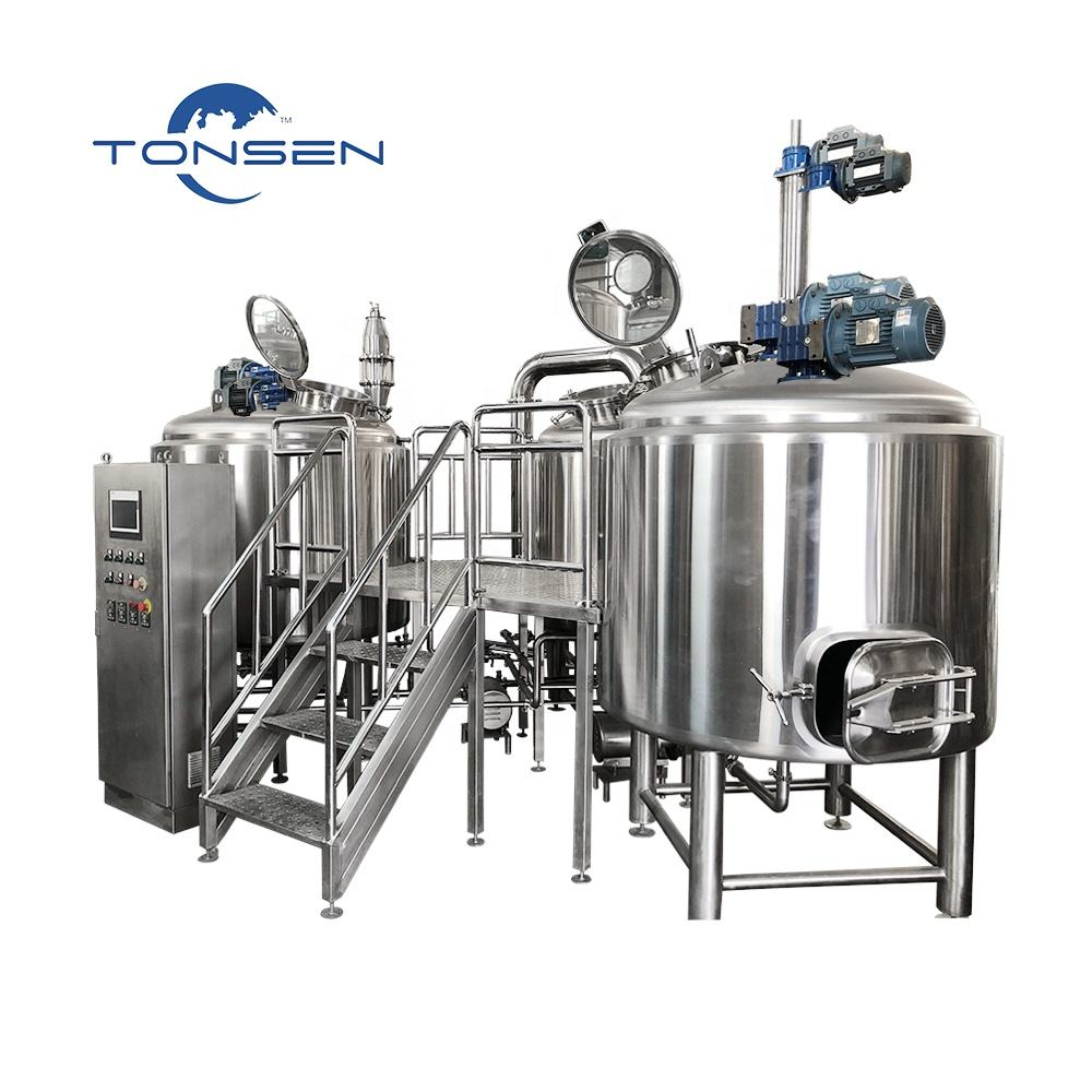 Craft beer brewery equipment 1000l 10hl microbrewery for beer factory