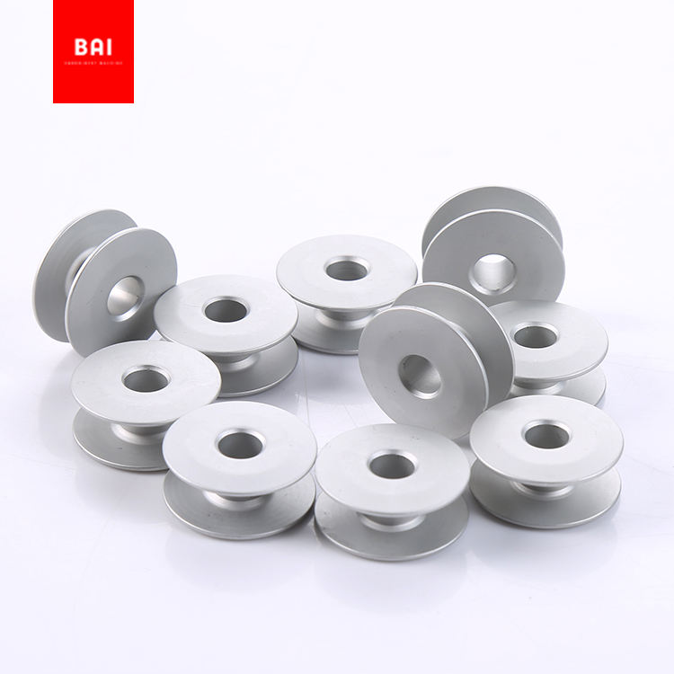 BAI Embroidery Machine Parts Pre Wound Steel Bobbins Sewing Thread