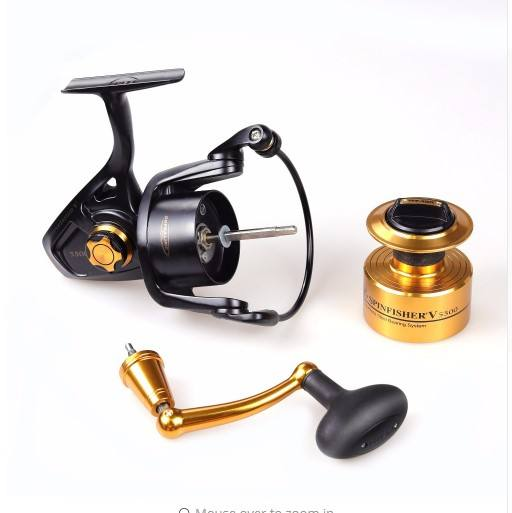 wholesale PEEN metal body saltwater fishing reel spinning reel sea fishing