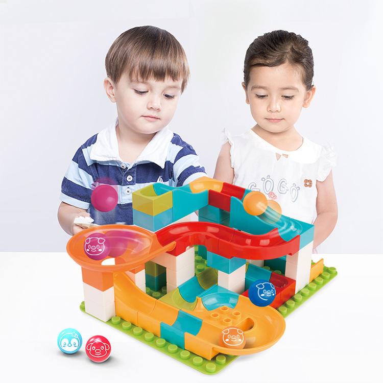 1Set Kids Pipeline Blocks Educational Smart Toys Children Intelligence Toys W
