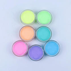 Water Activated  Neon Pastel Color Eye  Make Up Liner Face paint in Glow Dark Night