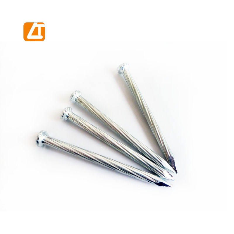 harden steel nails high tensile C45 steel galvanized concrete nails