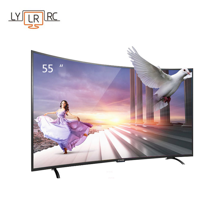 55-inch smart 4K network curved screen TV hotel TV dvb t2