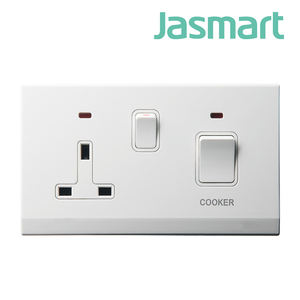 Exclusive for high-end hotels 2-gang 146 shaver outlet wall socket and switch