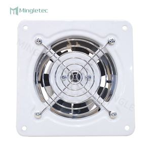 Mingle 220V Low Noise Air Exhaust Vent for Home Bathroom Kitchen Wall Mounted Ventilation Fan