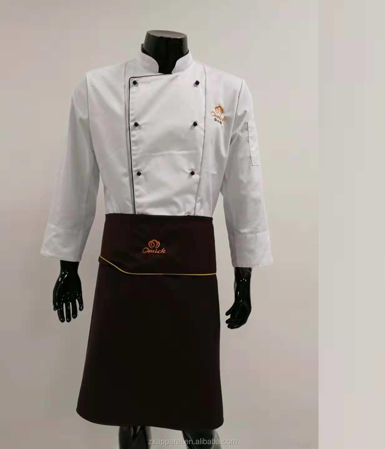 Sushi Spinnery bar Cuisinier uniforme izakaya Fukuya Teppanyaki blanc uniforme de chef MIYABI costume traditionnel