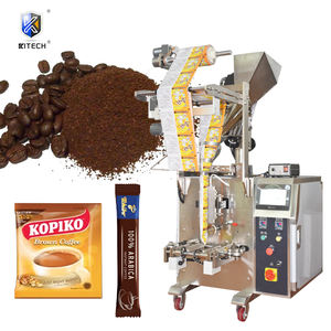 Automatic cinnamon powder pouch instant coffee sachet bag packing filling machine