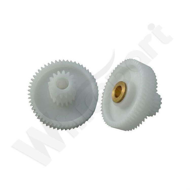 Meat Mincer Spare Parts Grinder Sleeve Food Machine Spare Electric Meat Mincer Parts Plastic Gear