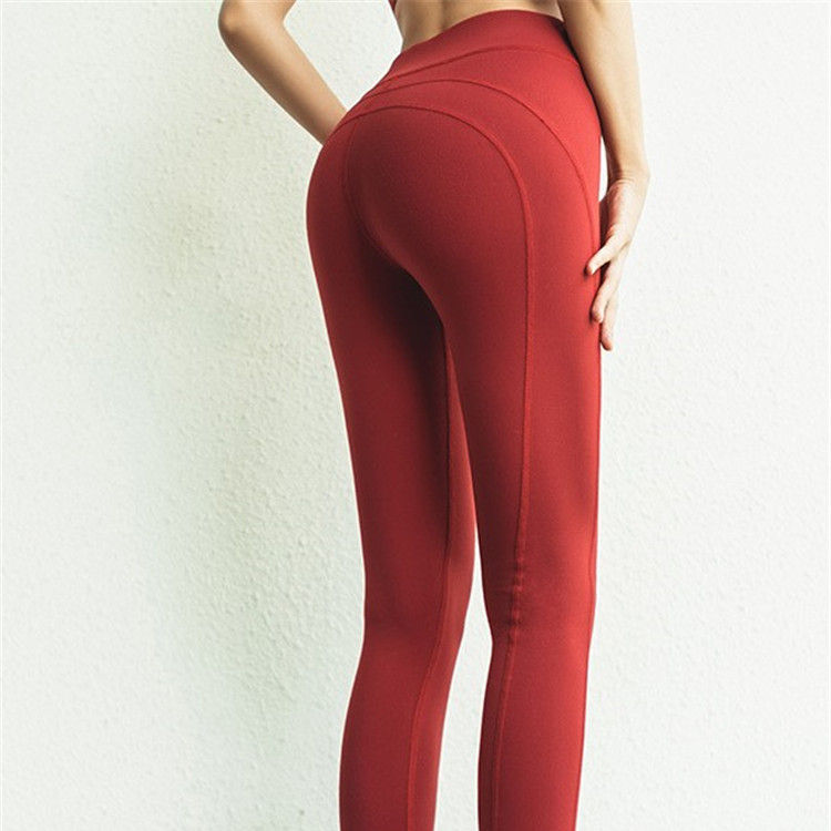 sustainable Recycled plastic athleisure seamless fitness gym active tight jogger short pant women yoga 7/8 leggings