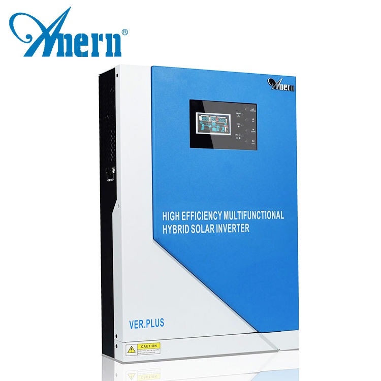 5000w 48v hybrid solar inverter 5kw with MPPT charger for solar power system for home and government
