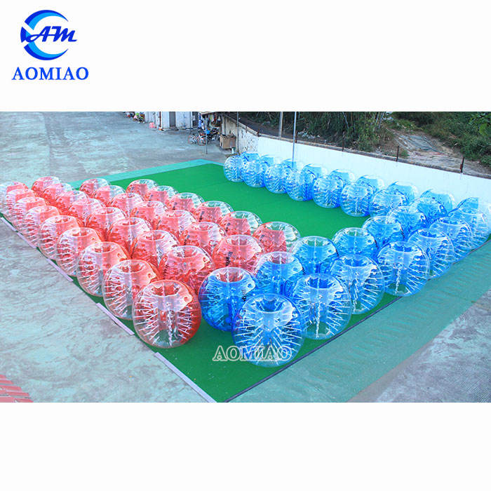 Top quality 100% 1.0mm TPU inflatable bumper ball/ body zorbing bubble ball