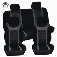 Europe 2019 hot selling new design full set interior accessories useful  car seat  cover fabric