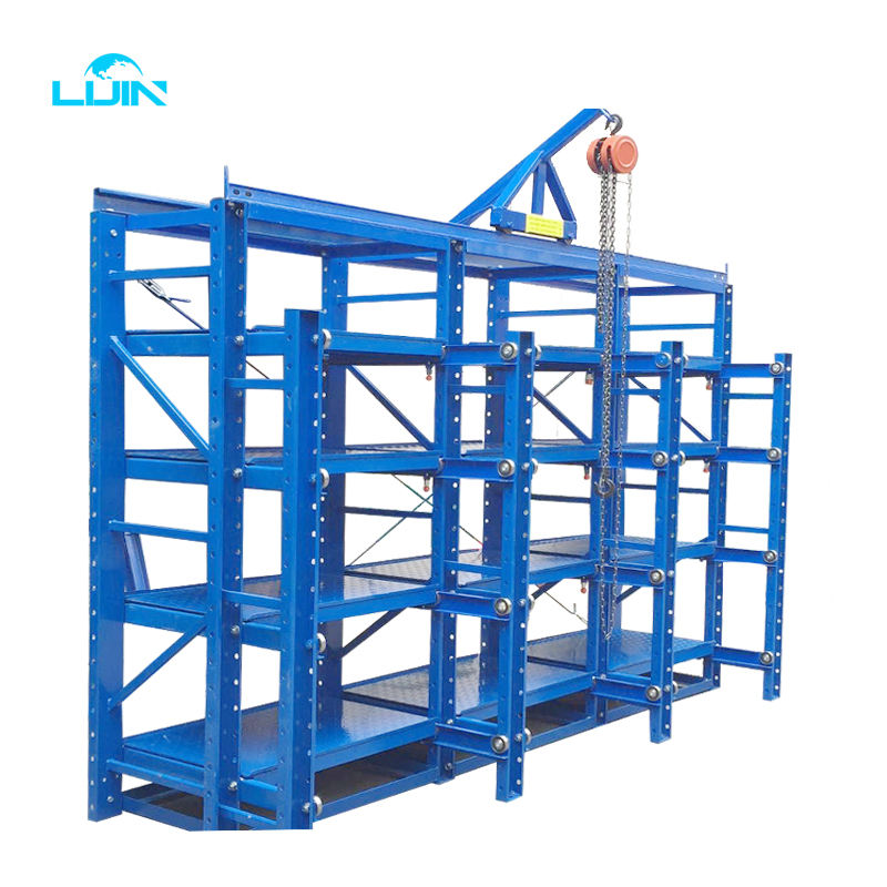 Wholesale Warehouse Metal Storage Industry Manufacture Heavy duty Mold Rack Mould Shelf System