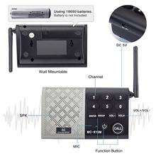 Factory Wholesale Security Intercom System Wireless Outdoor- 5 Slavers