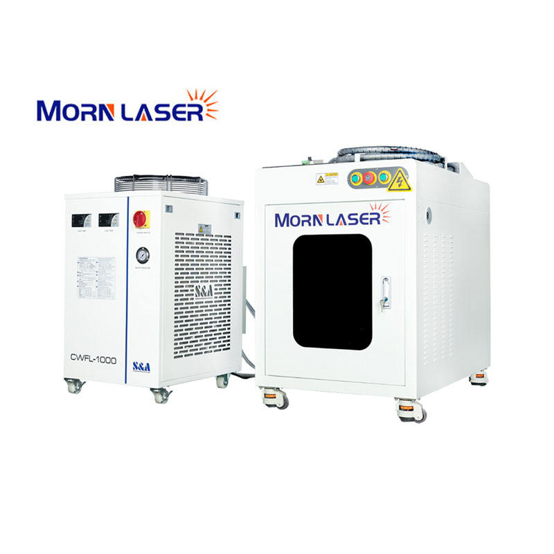 MORN 1000w 1500w 2000w cnc portable handheld fiber laser welding machine for stainless steel metal sheet