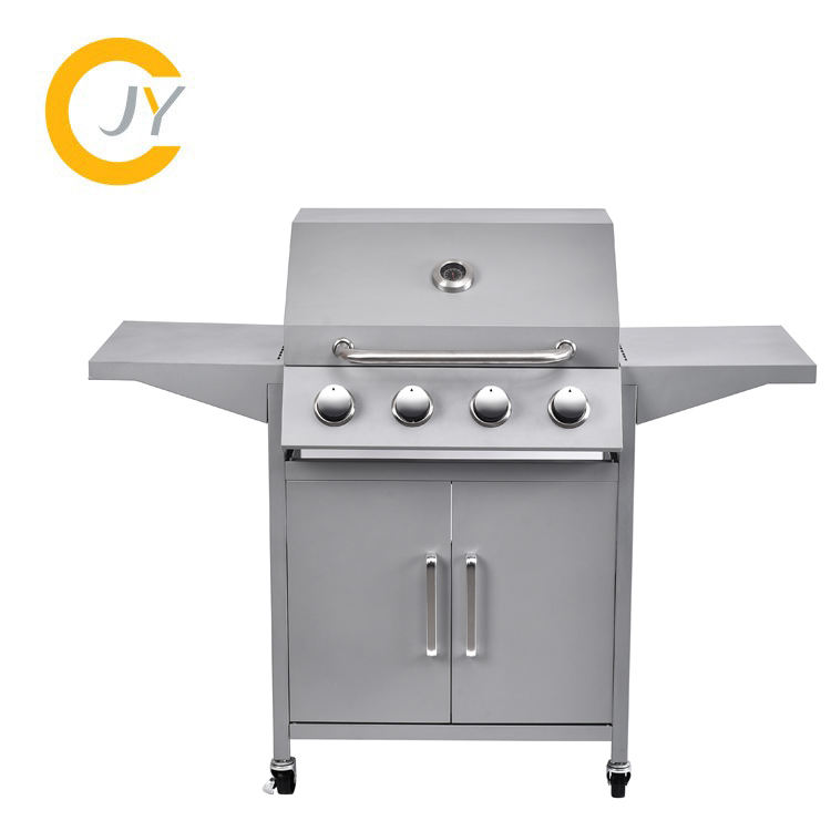 Gas Houtskool Hybrid Gas BBQ Barbecue Grills voor Outdoor Keuken