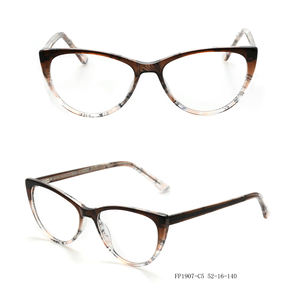 FP1907 newest trend acetate cat eye glass frame