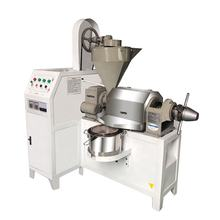 Screw oil press machine for press peanut, soybean, sunflower, rapeseed, sesame, etc.