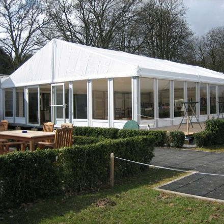 outdoor glass wall marquee wedding party tent for 500 people
