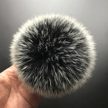 Real Fox Fur Pompom Genuine Fur Pom Poms Ball for Hats&Caps Big Natural Fur Pompon Ball For Shoes Bags Accessories