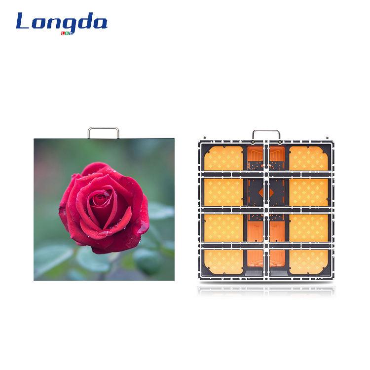 Pantalla LED interior P1.88 alta tasa de refresco de alta calidad luminosa pantalla en un centro comercial de carteles