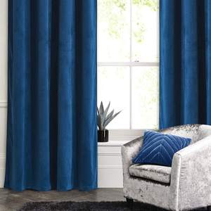 Luxury hot selling soft touching plain ready made velvet curtains for hotel and home